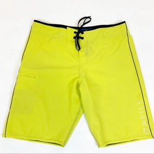 O'Neil Hyperfreak Boardshorts Lime Green 36